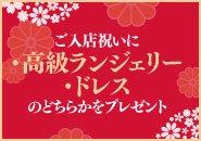 湯房蔵屋JOB(女の子求人)サイト_募集要項とエントリーシート_ご入店祝いに高級蘭ジェシーorドレスのどちらかをプレゼント